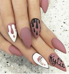 13 Best Kylie Jenner Nails Images On Pinterest Gel Nails Nail Art