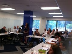 Full house for our panel at the @ConstantContact @innoloft #tcnlive