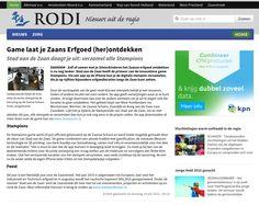 14 juli 2015 - Zaans Stadsblad / Zaanstreek op Zondag / RODI