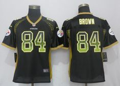 Women Pittsburgh Steelers 84 Brown Drift Fashion Black New Nike Elite NFL Jerseyscheap nfl jerseys,cheap nfl jerseys free shipping,cheap nfl jerseys china,from chinajerseys.ru Pittsburgh Steelers Jerseys, Football Jerseys, Nfl Shop, Fashion Black, Sweatshirts, Brown, Tops, Women, Cheap Nike