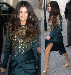 Selena Gomez's Stylish Streak in 3 Different Outfits in London