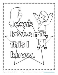 jesus and the children bible coloring page - Children Coloring Pictures
