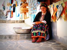 Tradition Resists -- Women from Olympos Village at daily tasks