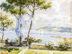 Hoca Ali Rıza Painting & Drawing, Contemporary Art, Art Gallery, Artist, Drawings, Poster, Istanbul, Elsa, Landscapes