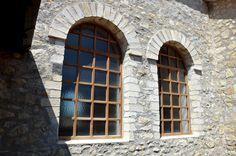 Der Archäologische Park Carnuntum im Juli 2014 - Fenster der Therme