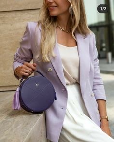 Luxury Fashion, Womens Fashion, Office Looks, Street Style, Style Inspiration, Formal, Closet, Outfits, Color