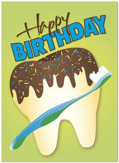 Resultado de imagem para happy birthday dentist images