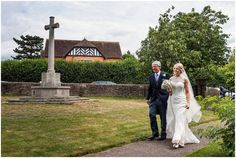 Wedding at Claines Church Worcestershire