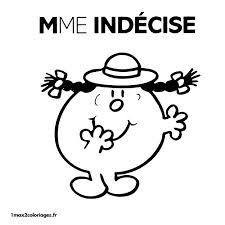 """Résultat de recherche d'images pour """"coloriage monsieur madame"""""""