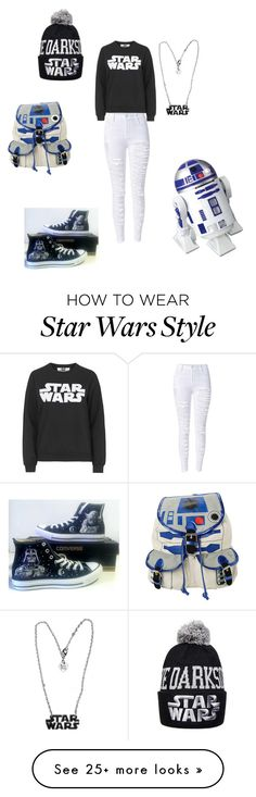 """""""Star Wars"""" by garofalo-adriana on Polyvore featuring Tee and Cake, Converse and R2"""