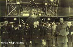İzmir Gaziemir'de havacılık gösterileri öncesi - 1934