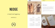 Nudge - Creative/Agency WordPress Theme #creativewordpresstheme #agencywordpresstheme Live Preview and Download: http://themeforest.net/item/nudge-creativeagency-wordpress-theme/9791656?ref=ksioks