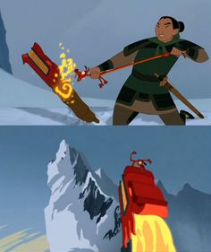 Image result for mulan dragon head cannon