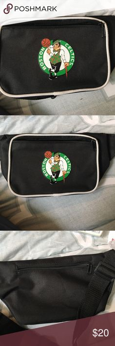 Celtics Fannypack Boston celtics fanny pack perfect condition celtics  Bags