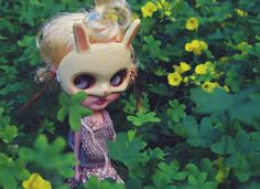 we're looking for 4 leaf clovers ✨🍀✨ #ブライス #カスタムブライス #ネオブライス #カワイイ #gbaby #gbabydolls #customblythe #blythe #doll #blythedoll #blythecustom #art #barbie #monsterhigh #pullip #bjd #kawaii #fashion #art #fashionblogger #style #couture #mua #スタイル #ファッション