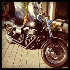 Harley-Davidson Fat Bob Street side #harley