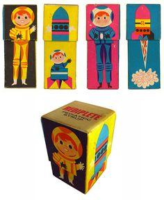 vintage style packaging