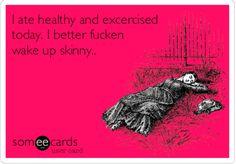 """""""I better!"""" hahaha @jordanmcfarland ...11 Ways To Wake Up Thinner"""