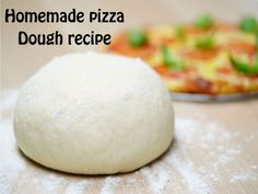 Recipe Greek Yoghurt Pizza Dough by Sweet-ReeLee, learn to make this recipe easily in your kitchen machine and discover other Thermomix recipes in Basics. Pizza Recipes, Vegetarian Recipes, Cooking Recipes, Vegetarian Pizza, Savoury Recipes, Potato Recipes, Nutella, Pasta, Pizza