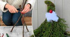 En fantastisk granitthage gir den rette stemningen til jul. Hanukkah Gifts, Christmas Hanukkah, Xmas, Christmas Tree, Diy And Crafts, Arts And Crafts, Barn Pictures, Christmas Front Doors, Christmas Decorations To Make