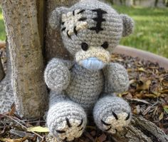 Free crochet pattern for a tatty teddy by Free Patterns by H.