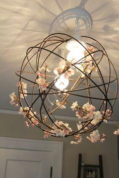 lampenschirm aus natürlichen materialen