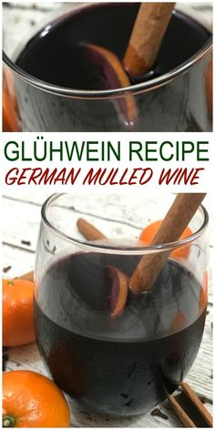 gluhwein, german spiced wine, mulled wine - this Christmas wine is perfect for a Holiday party! #mulledwine #glogg #spicedwine #glühwein #christmas #christmasbeverages #beverage #wine #holidayparty #chirstmasparty #scandinavian #scandichristmas