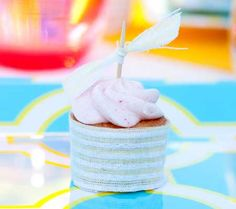 Mini Strawberry Cupcakes Recipe featuring @Duncan Hines