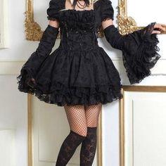 Black Lolita Style Dress