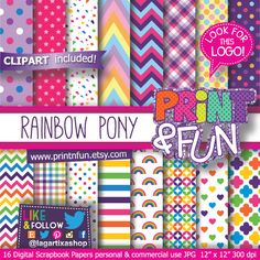 Un favorito personal de mi tienda Etsy https://www.etsy.com/mx/listing/184582493/arcoiris-papel-digital-fondos-arcoiris #mylittlepony #rainbowpaper #digitalpaper #patterns #chevron #babygirl #invitations #birthdayparty #design