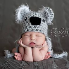 Just added our Koala Hat back into the shop