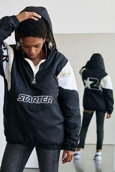 Slide View: 1: Starter + UO Breakaway Partial Zip Jacket