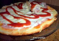 Naan, Hungarian Recipes, Hawaiian Pizza, Winter Food, Meat Recipes, Pizza Recipes, Scones, Vitamins, Cheesecake