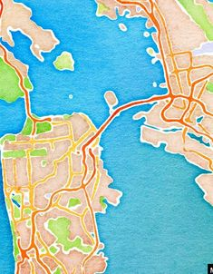 website where you can type in any location in the world and it spits out pretty watercolor maps of that spot