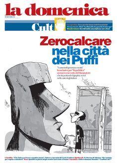 Zerocalcare nella città dei puffi - la Repubblica