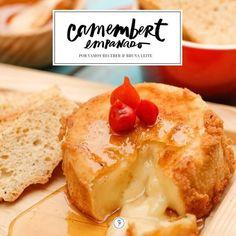 Camembert empanado. | 12 receitas que são presentes de Dia dos Namorados em forma de comida