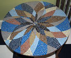 Beautiful Mosaic Table by KH Mosaic http://www.khmosaic.co.uk/