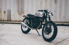 Honda CB125 cafe racer discover #motomood