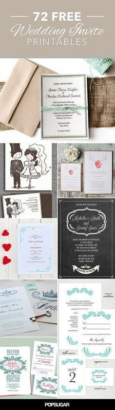 Free wedding invites you can download right now!