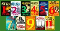 Women's Murder Club - This series was the start of my obsession with James Patterson books.....