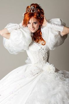 Giselle from Enchanted cosplay - This would be ridiculous, but awesome!