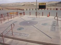 The Four Corners, where you are in four states at one time! Utah, New Mexico, Arizona and Colorado