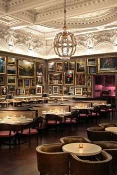 The London EDITION - London, United Kingdom - The buzzy restaurant is helmed by Michelin-starred chef, Jason Atherton.