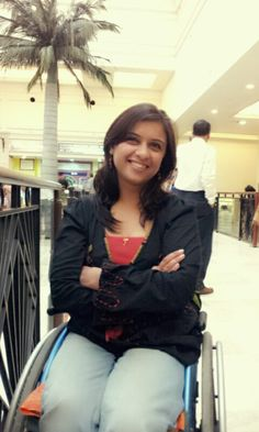Ms. Pragya Ghildial, a Yoga instructor, became a paraplegic following an accident. She is now a therapist-cum-counselor at Indian Spinal Injuries Center, New Delhi where she was treated. Also plays Table Tennis across the world!