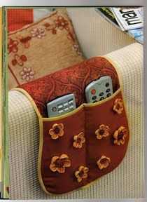 Home - Marianna Lara - Picasa Web Albums Remote Caddy, Remote Holder, Small Sewing Projects, Sewing Hacks, Sewing Crafts, Pinterest Diy Crafts, Ideas Hogar, Diy Sofa, Patch Quilt