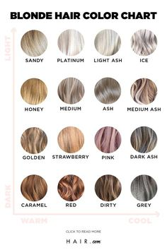 If you're looking for inspiration, look no further than the ultimate blonde hair color chart. From strawberry blonde to ash blonde, we've got you covered. color blonde From Ash To Strawberry: The Ultimate Blonde Hair Color Chart Blonde Hair Shades, Blonde Hair Looks, Brown Blonde Hair, Hair Color Shades, Black Hair, Ash Hair, Light Ash Blonde, Ash Blonde Hair Balayage, Cool Ash Blonde