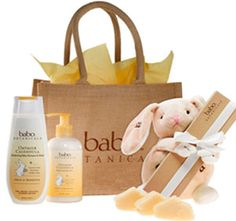 amazing company! babo botanicals | Oatmilk Calendula Newborn Gift Set