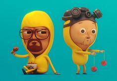 Mike Mitchell's Walt & Jesse by SLiD3