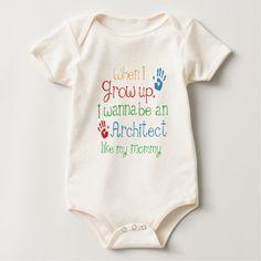 Architect (Future) Like My Mommy Baby Creeper