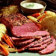 What we are having for dinner Tonight !!Corned beef crockpot